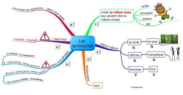 Les synonymesf