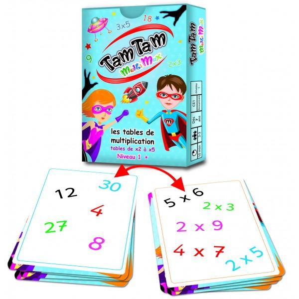 Les jeux tam tam des jeux malins pour jouer avec les mots - Jouer avec les tables de multiplication ...