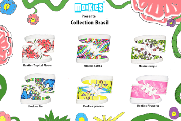 Monkies Collection Brasil R