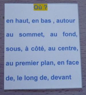 Une Aide A L Ecriture Un Essai De Lapbook Pour Decrire Un Lieu Fantadys