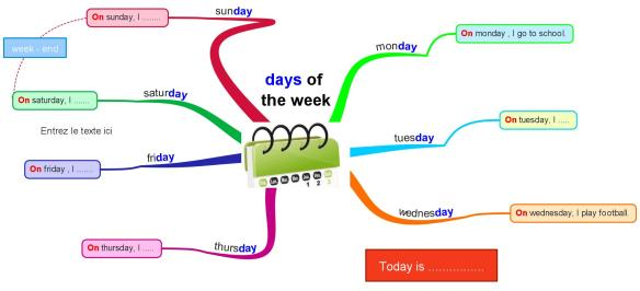 days of the week 1