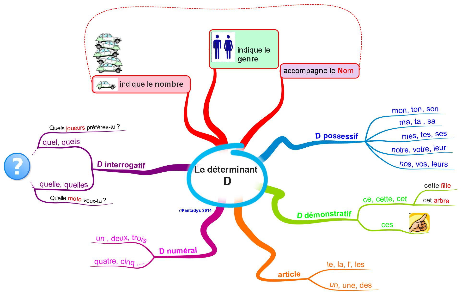 Determinant attributes