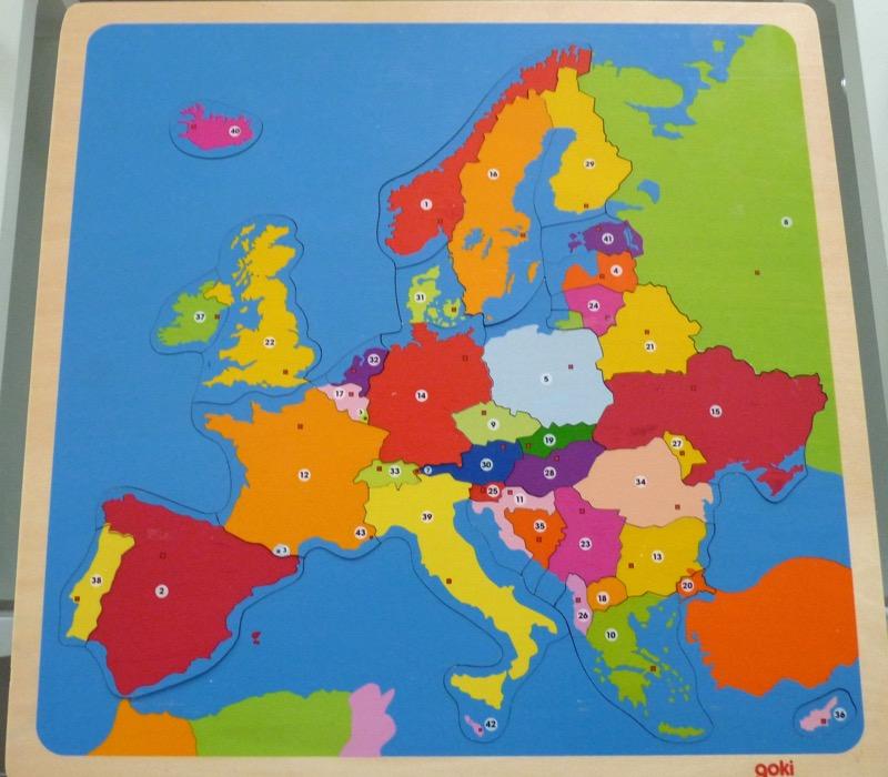 Carte De Leurope Jeux Educatifs.Europe Fantadys
