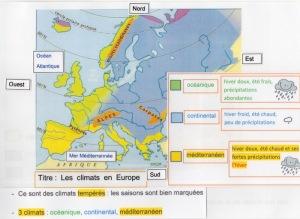 CARTE CLIMAT