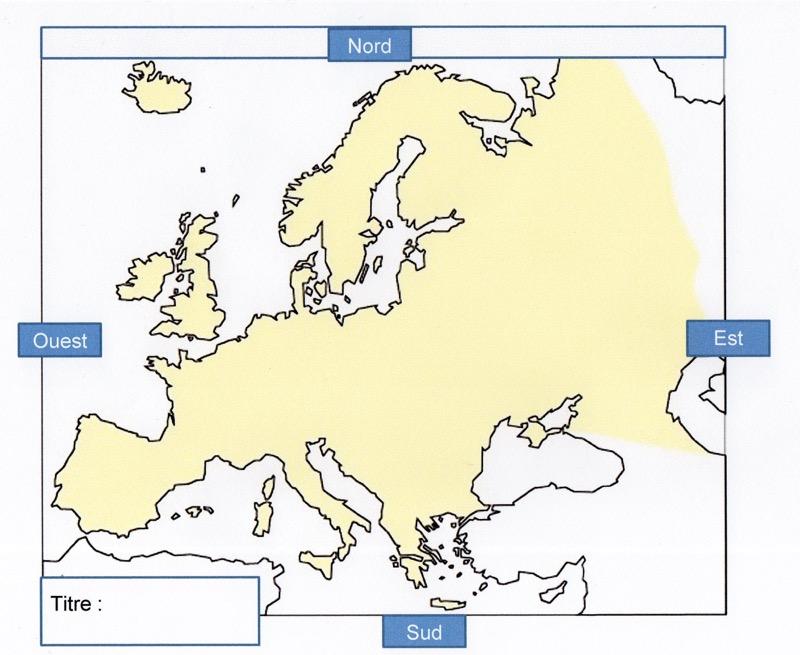 Carte De Leurope Jeux Educatifs.Geographie Des Cartes Encore Des Cartes A La Recherche D Une