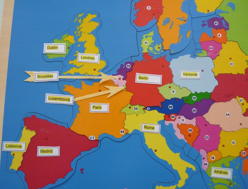 Comment Apprendre La Carte De L Europe | casamagenta