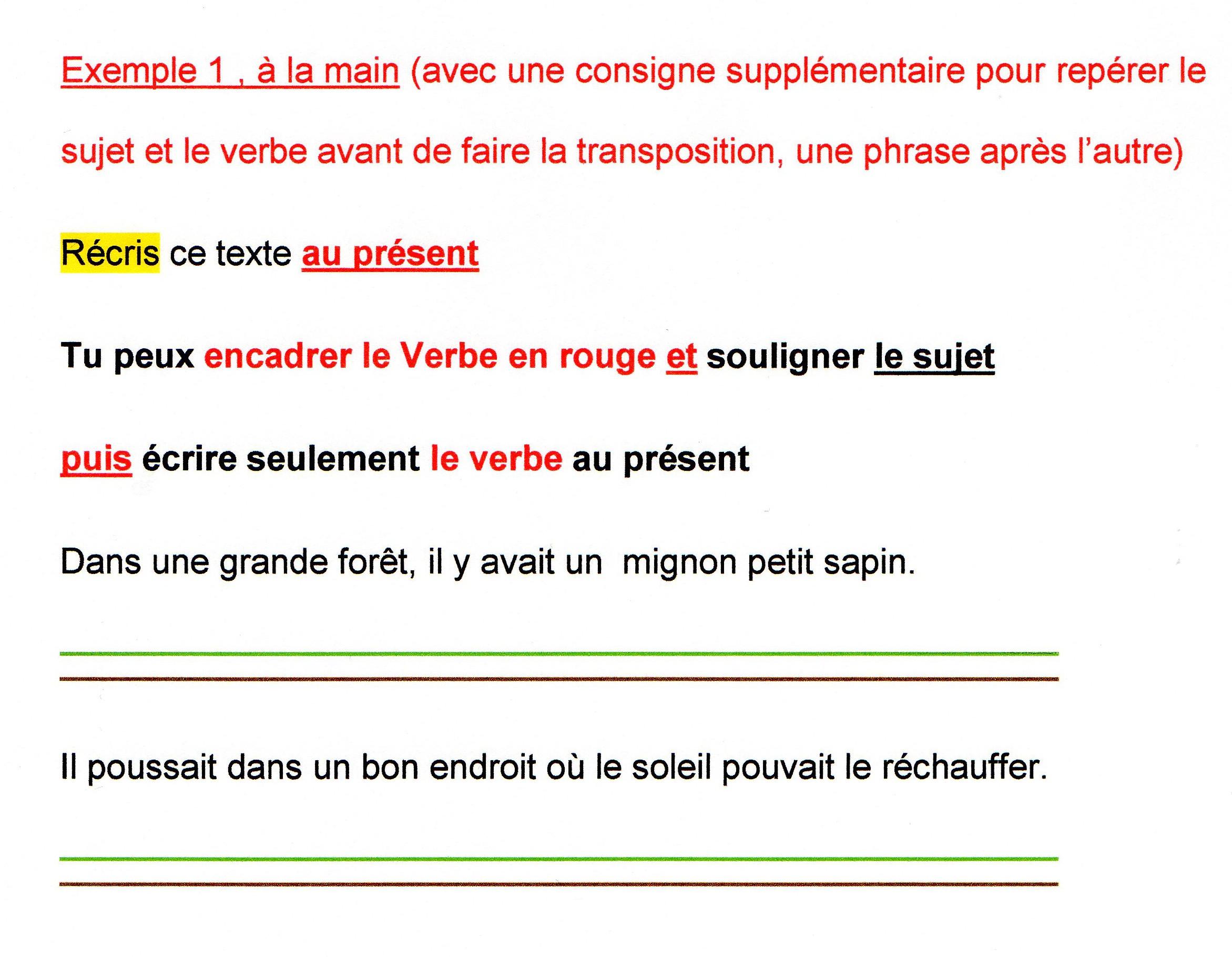 Conjugaison Et Transposition De Textes Une Tache A Adapter Automatiser Surmonter Fantadys