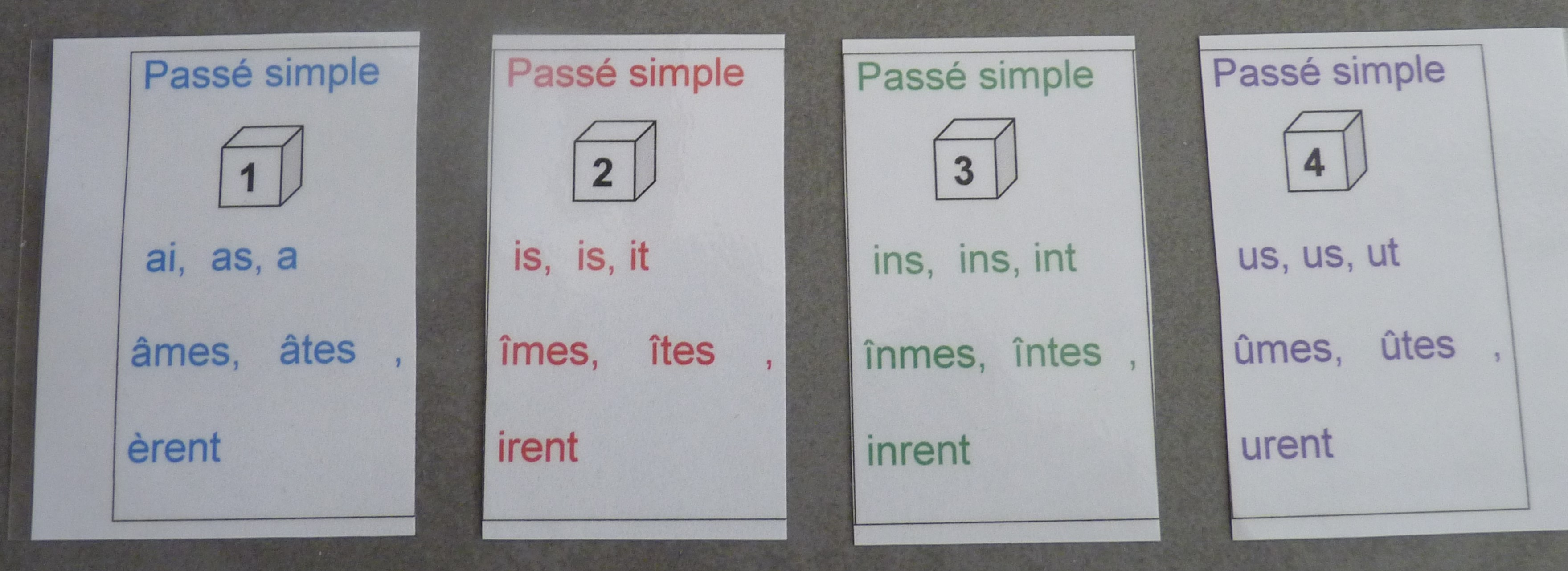 conjugaison de essayer au passe simple