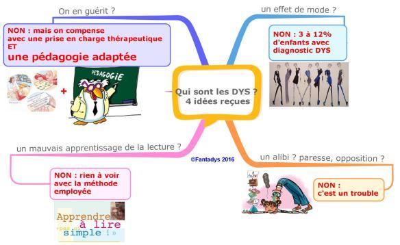 Qui sont les DYS 4 idées reçues F