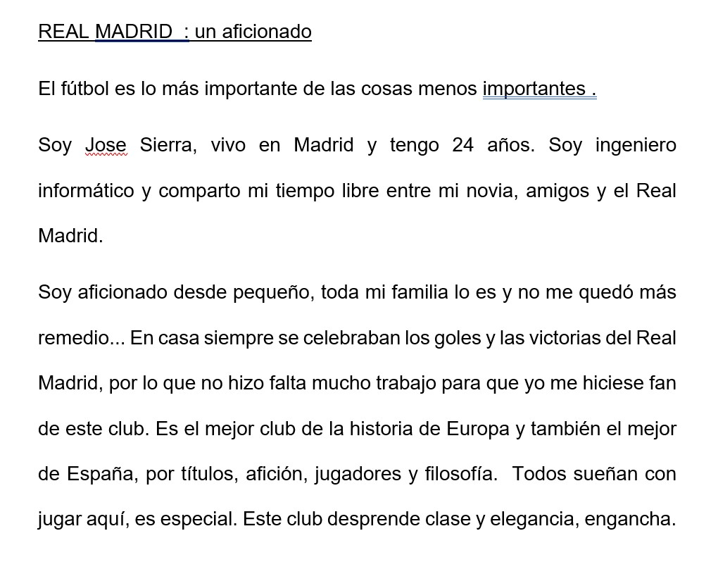 Espagnol Fantadys